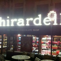 Photo taken at Ghirardelli Chocolate Marketplace by Nicholas R. on 1/4/2012