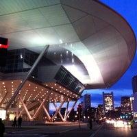 Photo taken at Boston Convention & Exhibition Center by Antonio F. on 5/3/2011