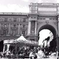 Photo taken at Piazza della Repubblica by Miguel C. on 9/13/2012