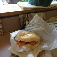 Photo taken at South Street Philly Bagels by Mary-Jo M. on 6/13/2012