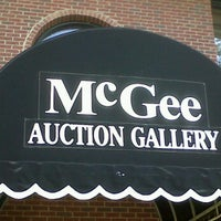 Photo taken at McGee Auction Gallery by Candace N. on 10/20/2011