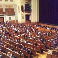 Photo taken at Новосибирский государственный академический театр оперы и балета by ANDREY  on 4/4/2012