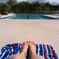 Photo taken at The Pool At The Resort by Jesslee R. on 2/25/2012