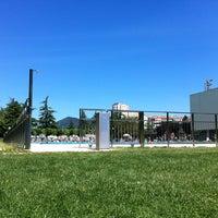 Photo taken at Piscinas Burlada by Jess on 6/24/2012