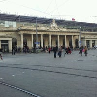 Photo taken at Gare SNCF de Montpellier Saint-Roch by Lo B. on 3/2/2012