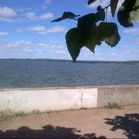 Photo taken at Набережная Воткинского пруда by Miray on 7/30/2012
