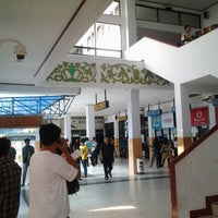 Photo taken at Bandara Fatmawati Soekarno (BKS) by Adrian A. on 7/27/2012