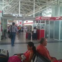 Photo taken at Terminal de Autobuses ADO by Fernando G. on 7/7/2012