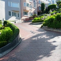 Photo taken at Lombard Street by Richard G. on 6/26/2012