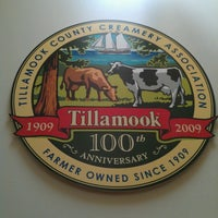 Photo taken at Tillamook Cheese Factory by John A. on 7/9/2012