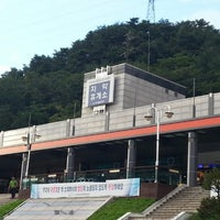 Photo taken at Chiak Service Area - Chuncheon-bound by SuJung K. on 8/26/2012