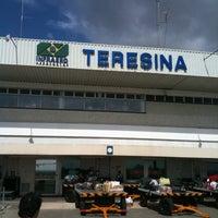Photo taken at Aeroporto de Teresina / Senador Petrônio Portella (THE) by Fabio S. on 3/19/2012