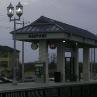 Photo taken at DCTA MedPark Station (A-train) by Cj P. on 3/8/2012