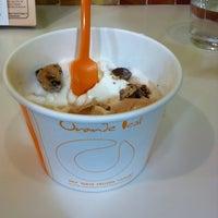 Photo taken at Orange Leaf Frozen Yogurt by Mel on 2/26/2012