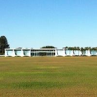 Photo taken at Alvorada Palace by Leonardo A. on 8/4/2012