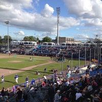 Photo taken at Pim Mulier Baseball Stadium by Albert on 7/21/2012