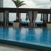 Photo taken at Epic Rooftop Pool by Caroline D. on 2/11/2012