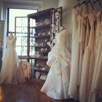 Photo taken at Gabriella NY Bridal Salon by Michelle O. on 5/30/2012