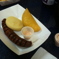 Photo taken at Mama's Empanadas by marilyn s. on 2/19/2012