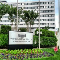 Photo taken at Washington Plaza Hotel by Dan P. on 5/7/2012
