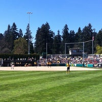 Photo taken at Howe Field by Luc H. on 4/22/2012