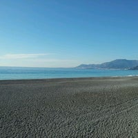 Photo taken at Passeggiata Bordighera-Vallecrosia by Fabius ♌ T. on 1/9/2012