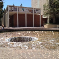 Photo taken at UCLA Inverted Fountain by Natalie L. on 7/1/2012