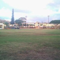 Photo taken at Waimea High School by K B. on 12/18/2011