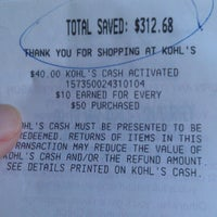 Photo taken at Kohl's by Gorgeous11 on 9/2/2012