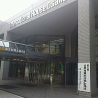 Photo taken at Osaka International House by Hitoshi G. on 9/28/2011