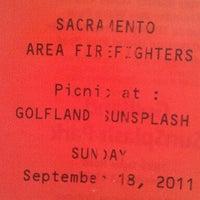 Photo taken at Golfland SunSplash by Tisha F. on 9/18/2011