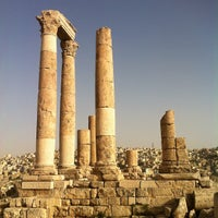 Photo taken at Amman Citadel by Omar R. on 5/23/2012