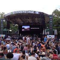 Photo taken at Central Park SummerStage by Rigo F. on 6/24/2012