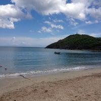 Photo taken at Playa Zaragoza by John on 8/8/2012