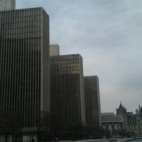 Photo taken at Empire State Plaza by Hendy S. on 1/7/2012