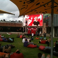 Photo taken at Northbridge Piazza by Tal W. on 2/11/2012