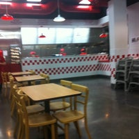 Photo taken at Five Guys by Jon B. on 9/11/2011
