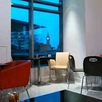 Photo taken at espressamente illy coffee bar by Gabriel B. on 2/29/2012