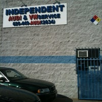 Photo taken at Independent Audi by Italo I. on 10/26/2011