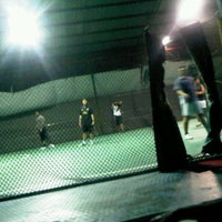 Photo taken at Anis & Eisya Danau Futsal by ayin on 11/9/2011