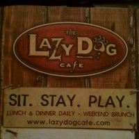 Photo taken at Lazy Dog Restaurant & Bar by Rudy M. on 9/11/2011