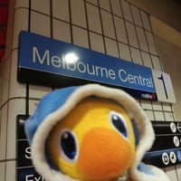 Photo taken at Melbourne Central Station by Jarrod B. on 4/8/2011
