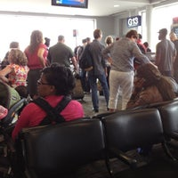 Photo taken at Gate G13 by Jim A. on 5/25/2012