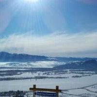 Photo taken at Jackson Hole Mountain Resort by Sam on 2/5/2012