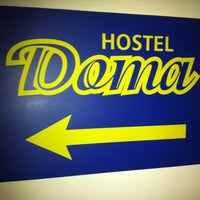 Photo taken at Doma Hostel in Riga by Rolands P. on 3/15/2011