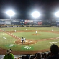 Photo taken at Estadio de Beisbol Eduardo Vasconcelos by Eddie R. on 8/7/2012