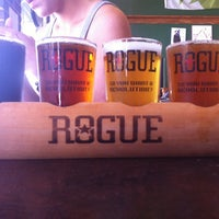 Photo taken at Rogue Ales Public House by conor m. on 7/2/2011