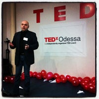 Photo taken at TEDx Odessa Change 06.04.2012 by Boris @netocrat K. on 2/29/2012