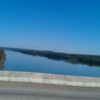 Photo taken at Tennessee River Bridge by JESUS H. on 10/4/2011