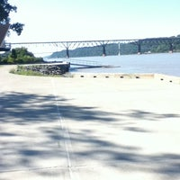 Photo taken at Marist Boathouse by David A. on 9/19/2011